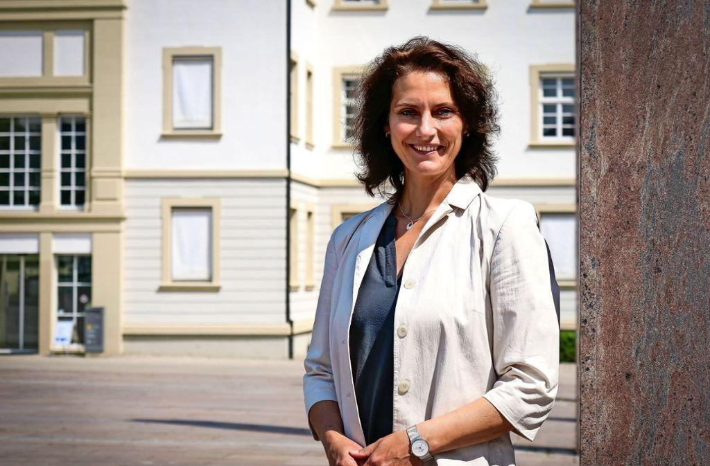 Will in Ludwigsburg einen guten Job machen: Andrea Schwarz Foto: factum/Simon Granville