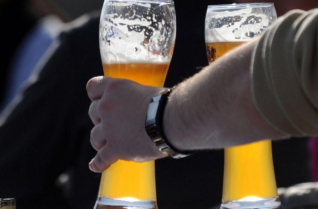Zwischen 9 Uhr und 12 Uhr schlagen die Bierdiebe in Winnenden zu. (Symbolbild) Foto: dpa