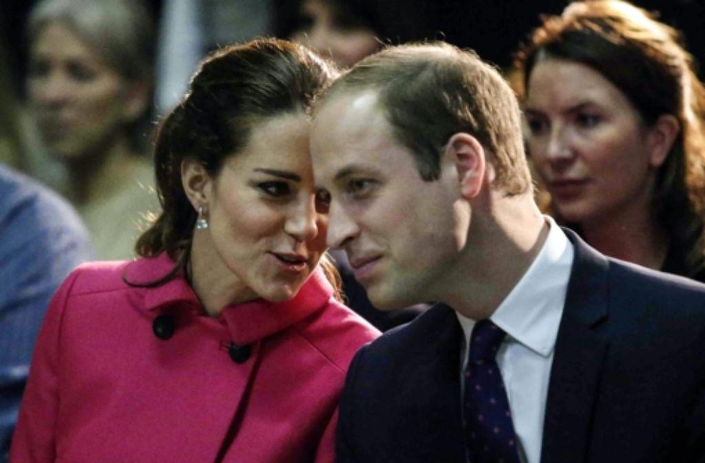 Herzogin Kate und Prinz William. Foto: AFP POOL