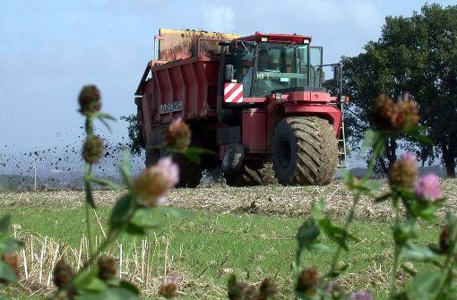 Landwirte sollen künftig Buch führen