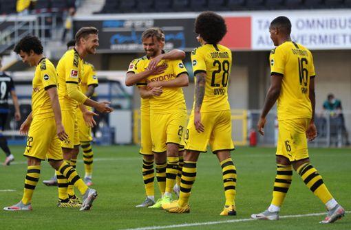 BVB feiert Kantersieg in Paderborn