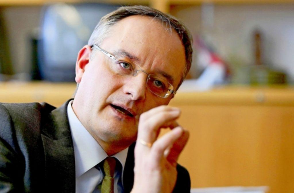Andreas Stoch lehnt Schulverbünde nicht mehr kategorisch ab. Foto: Achim Zweygarth