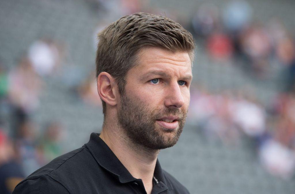 Thomas Hitzlsperger ist Koordinator des Vorstands Sport beim VfB Stuttgart. Foto: Pressefoto Baumann