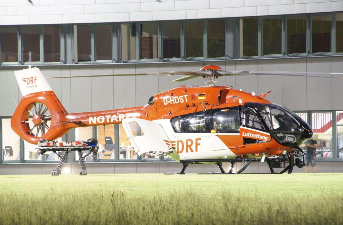Der Rettungsdienst brachte das verletzte Kind per Helikopter in eine Klinik. (Symbolfoto) Foto: SDMG/SDMG / Boehmler
