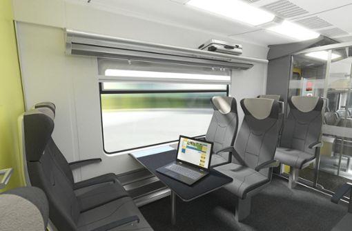 Stress mit Zügen verzögert Umbau