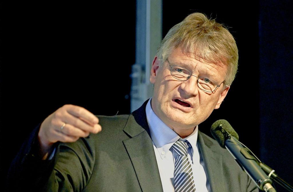 Die AfD-Abspaltung  um Jörg Meuthen ist nach Expertenmeinung zulässig. Foto: dpa