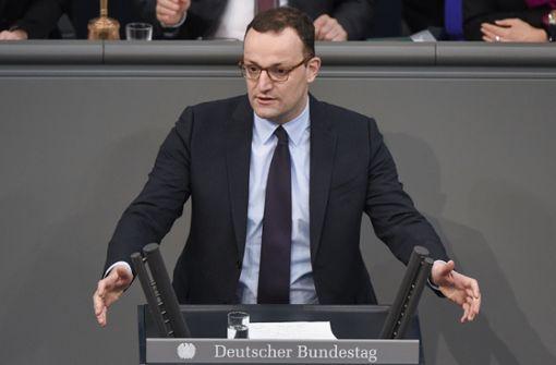 Jens Spahn schickt Grußwort an die Merkel-Kritiker