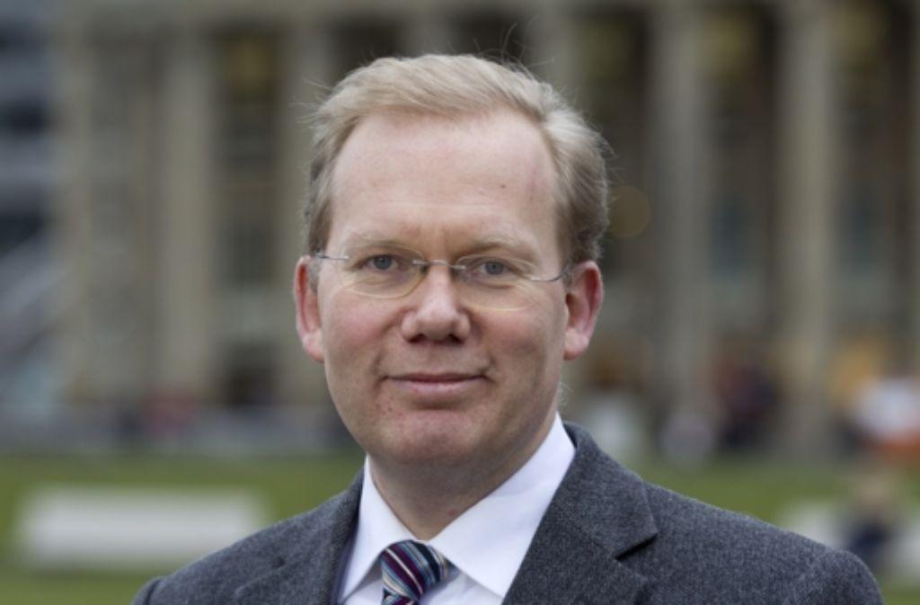 Sebastian Turner wird von CDU, Freie Wähler und FDP bei der Oberbürgermeisterwahl in Stuttgart unterstützt. Foto: dapd