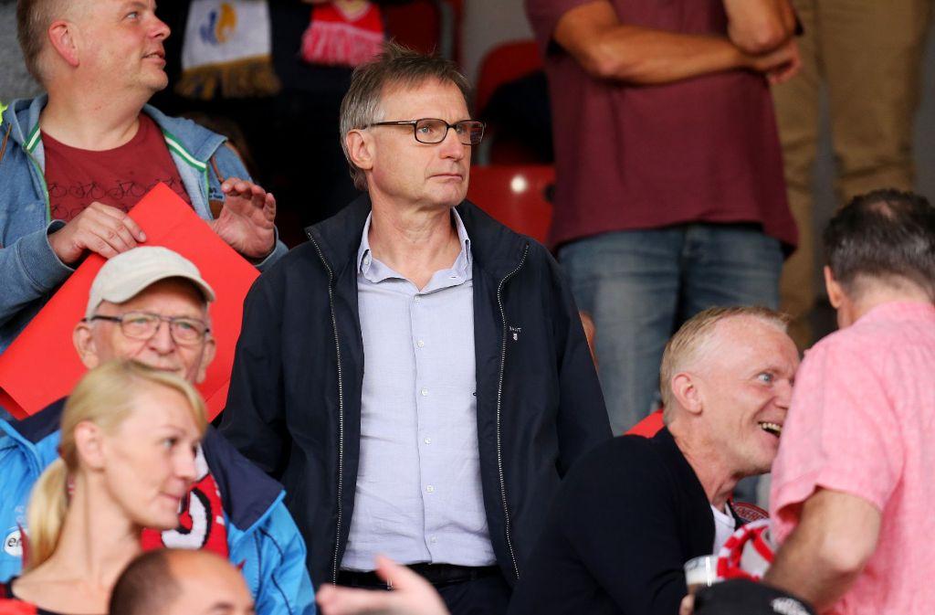 Michael Reschke legt beim VfB Stuttgart als Sportvorstand los. Foto: Pressefoto Baumann