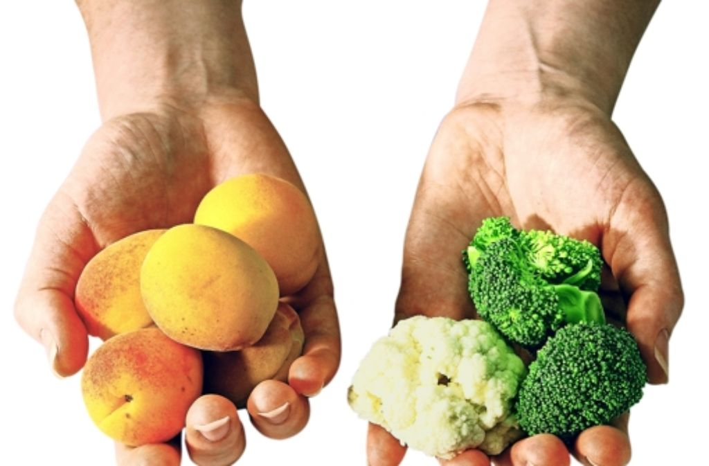 Fünfmal Obst und Gemüse am Tag – so lautete eine gängige Empfehlung. Doch Experten haben sie heftig kritisiert. Foto: DAK