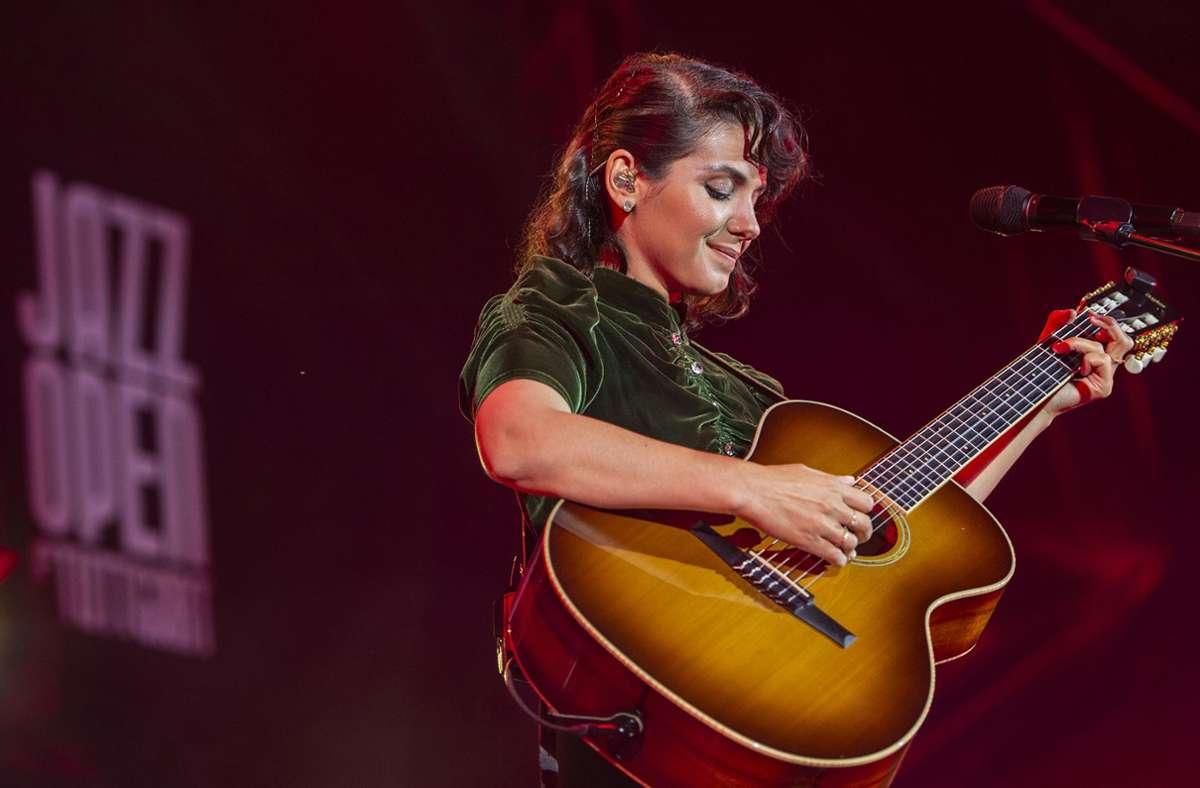 Katie Melua am Sonntagabend im Alten Schloss Foto: Reiner Pfisterer/n