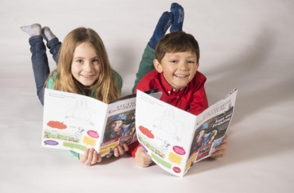 Die Stuttgarter Kinderzeitung richtet sich an kleine Leser zwischen sechs und zwölf Jahren. Foto: Martin Stollberg