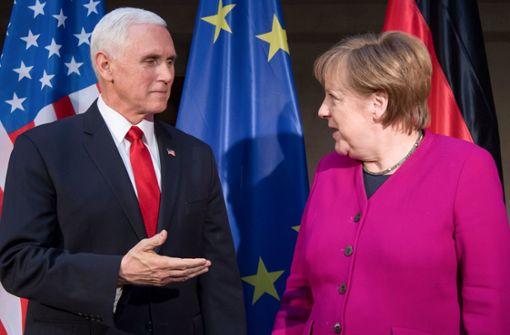 Weltmächte auf Konfrontationskurs