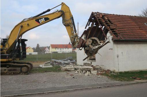 Verwirrung um Baumaterial fürs Jugendhaus
