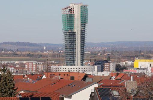 Noch zwei  Wohnungen mehr im Tower