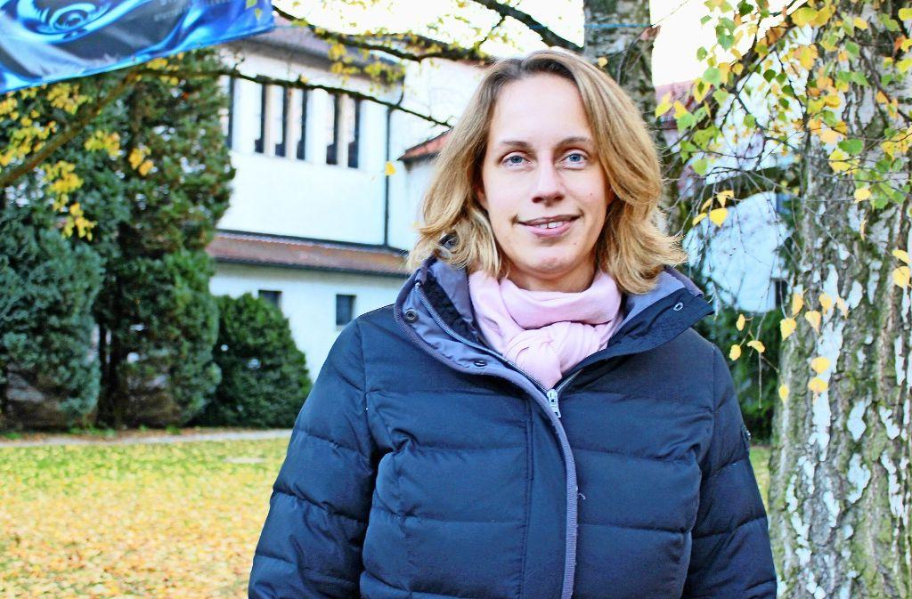 Daniela Naumann freut sich über die jungen Familien in Sankt Michael. Foto: Beiter