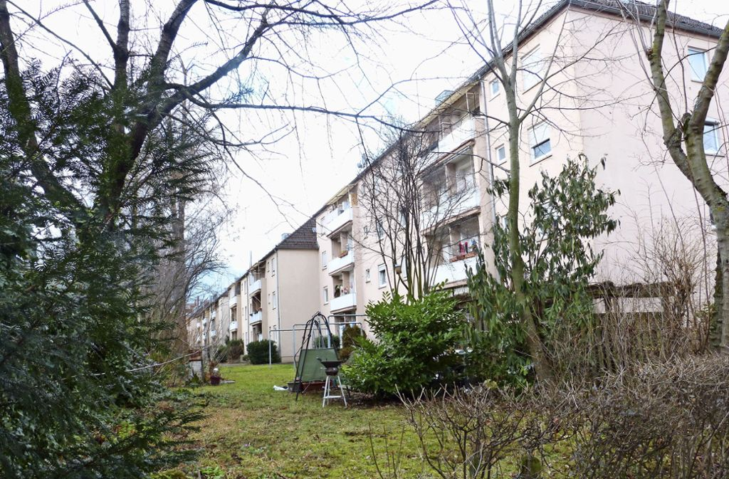 Die gut 300 Vonovia-Wohnungen auf dem Seelberg sind zwischen 60 und 70 Jahre alt. Foto: Nagel