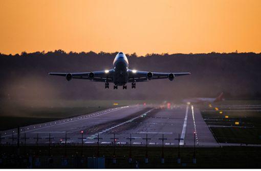 Flugverkehr beschränken