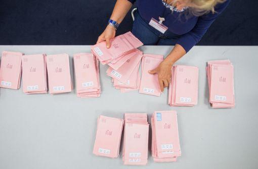 Briefwahlrekorde zeichnen sich ab