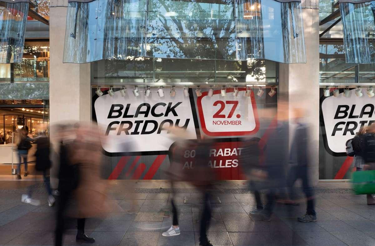 Der Countdown zum Schnäppchentag am 27. November läuft. Foto: Mydealz Foto: