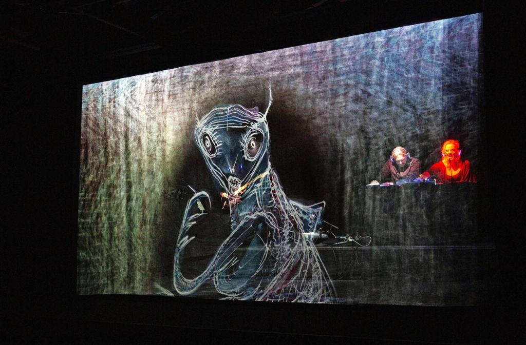 Die Theaterspinner entführen ihr Publikum in E.T.A. Hoffmanns Traumwelt. Foto: /Ines Rudel