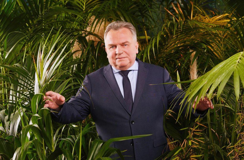 Einst Verkehrsminister, jetzt erster Politiker im Dschungelcamp: Günther Krause. Foto: /Arya Shirazi