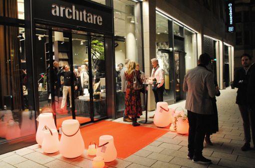 Open now! architare eröffnet neuen Store im Dorotheen-Quartier in Stuttgart.