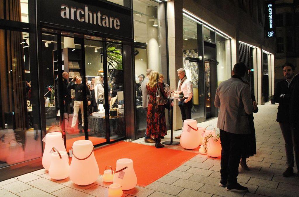 Open now! architare eröffnet neuen Store im Dorotheen-Quartier in Stuttgart. Foto: Emil Benz