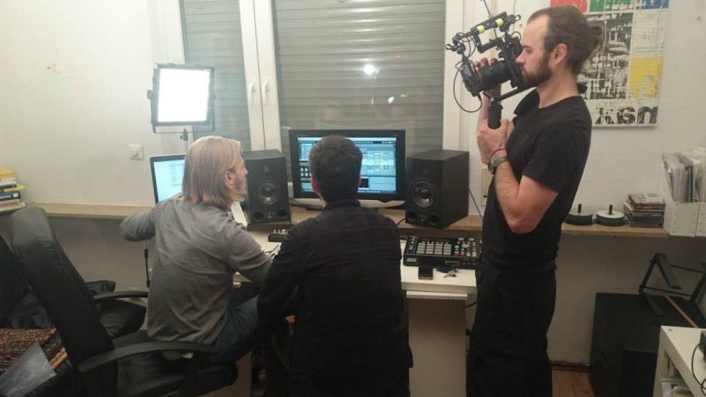 Housenation: Die Filmer in Aktion. Foto: Housenation