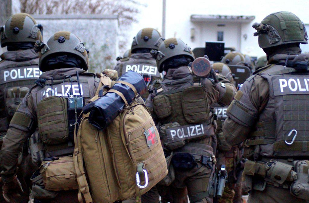 Ein SEK-Team beim Einsatz (Symbolbild) Foto: SDMG