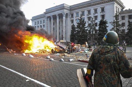 Hafenstadt Odessa erlebt eine Tragödie