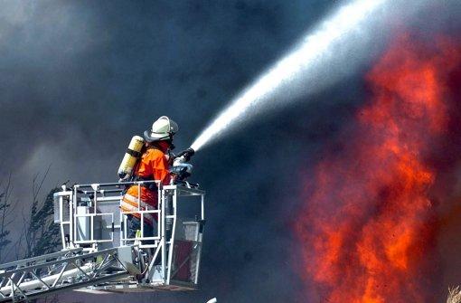 Bei der Feuerwehr brennt's