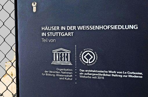 Stuttgarts langer Kampf ums Welterbelogo