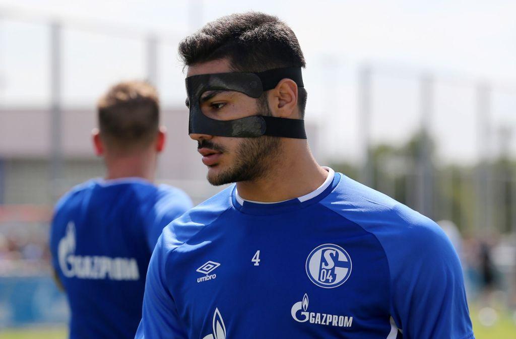 Schalke Maske