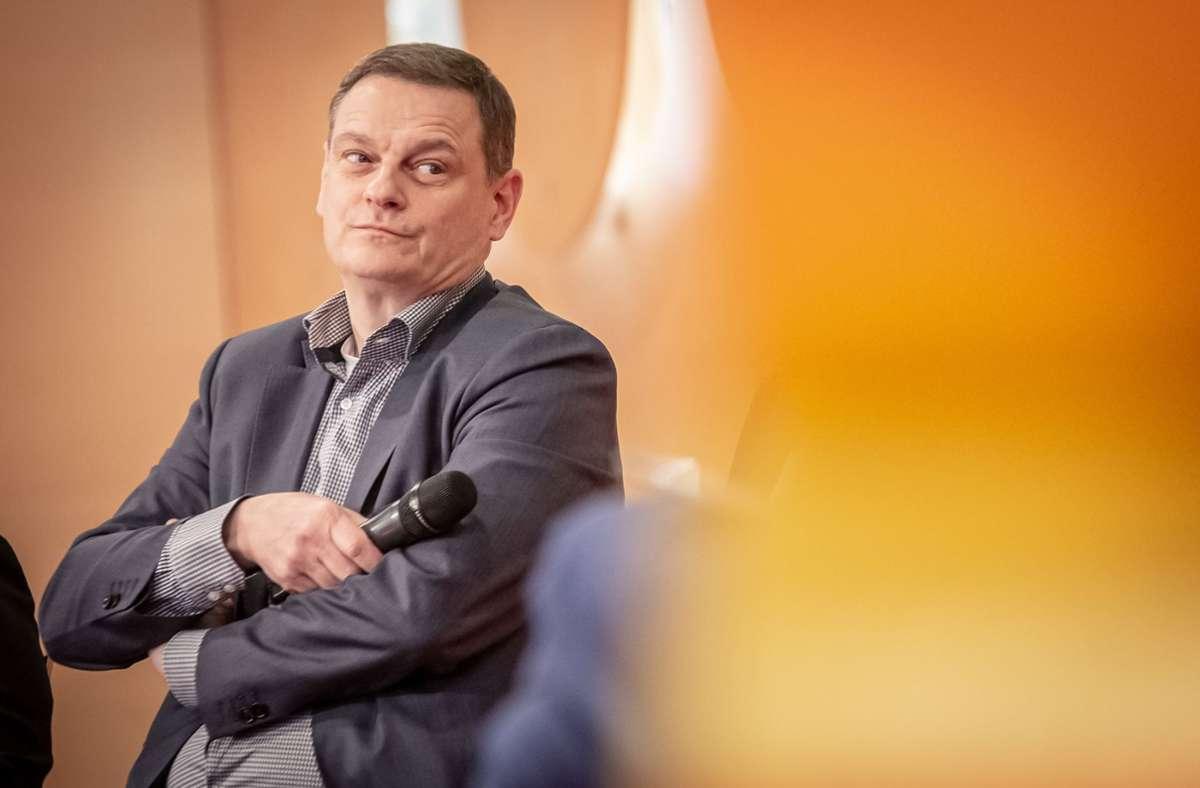 Franz Loogen ist seit 2010 Geschäftsführer   der  E-Mobil BW, der Landesagentur für neue Mobilitätslösungen und Automotive. Foto: Lichtgut/Julian Rettig
