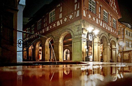 Gastro-Pause im Alten Rathaus