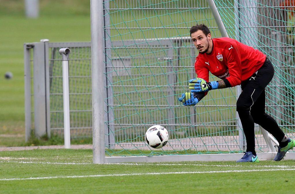 VfB-Torhüter Jens Grahl hat Einbrecher verjagt. Foto: Pressefoto Baumann