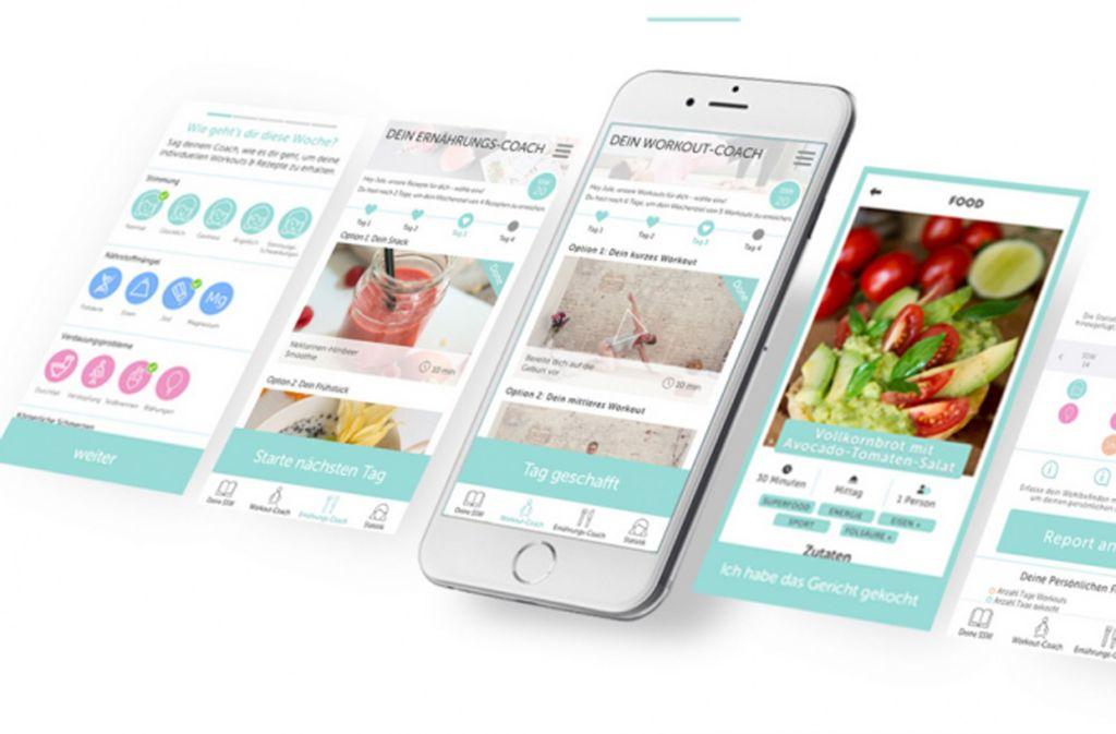 Auch Keleya, eine Service-App für Schwangere, gehört zu den digitalen Innovationen von W&W. Foto: IdeenwerkBW