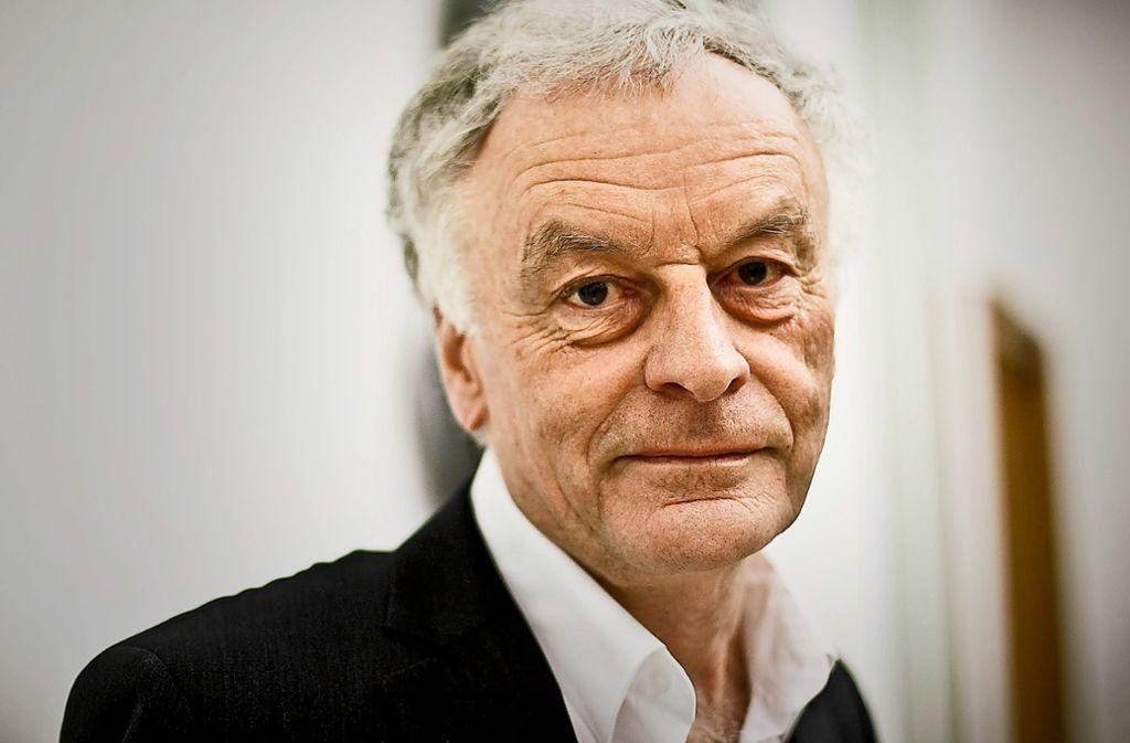 Literatur als Lebensform: Heinz SchlafferFoto:Lichtgut/Leif Piechowski Foto: