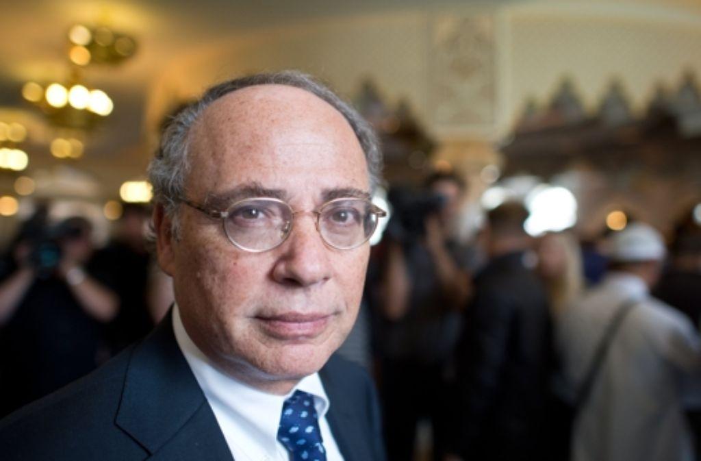 Der Präsident des Zentralrats der Juden, Dieter Graumann, wird bei der Wahl am 30. November nicht mehr kandidieren.  Foto: dpa