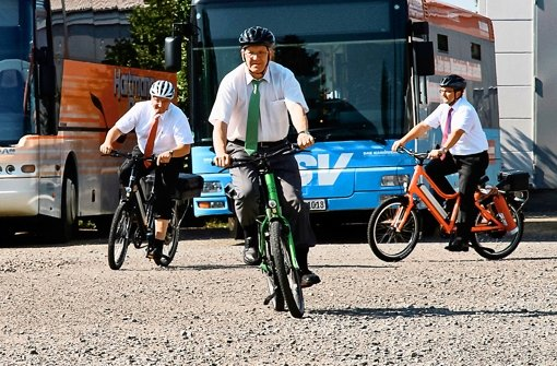 Heimische Radfirma schaut in die Röhre