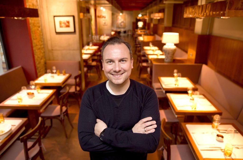 Der erste Platz  geht an Tim Raue vom Restaurant Tim Raue in Berlin. (Archivbild) Foto: dpa/Jörg Carstensen