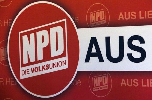 Die Länder wollen ein NPD-Verbotsverfahren in die Wege leiten. Foto: dpa-Zentralbild