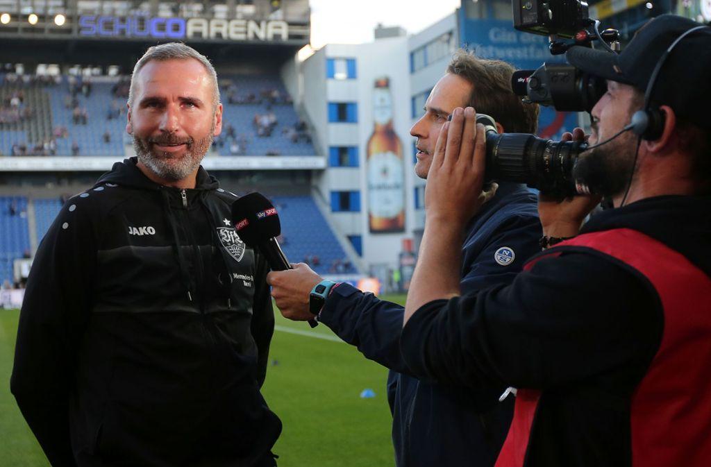 Tim Walter ist seit Juni Trainer des VfB Stuttgart. Foto: Baumann