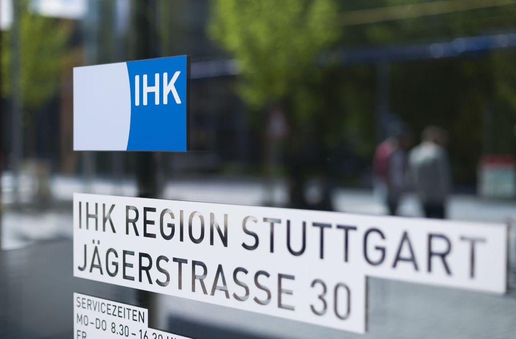 Die Vollversammlung der Industrie- und Handelskammer Region Stuttgart entscheidet am Donnerstag über eine Beitragsentlastung. Foto: IHK
