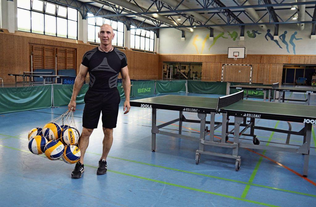 Klaus Talmon ist der Sportleiter der JVA Heimsheim. Foto: