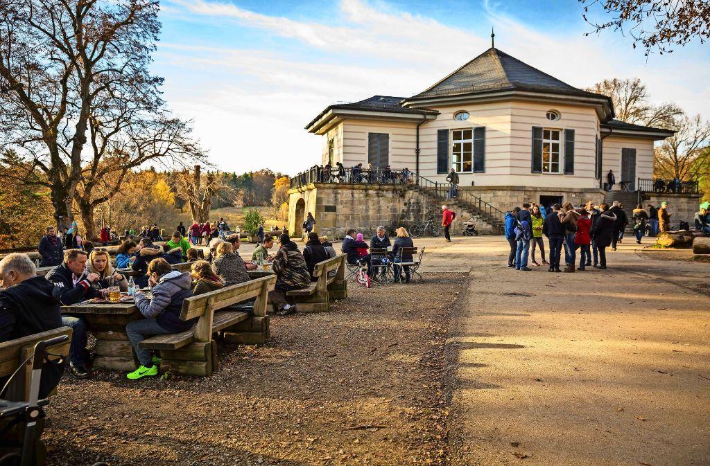 Am Donnerstag lockt – wie vor einem Jahr – ein Ausflug ins Freie (Bild zeigt das Bärenschlössle). Foto: Lichtgut/Julian Rettig