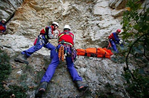 Finden und retten von Unfallopfern ist in unwegsamem Gelände schwierig. Foto: Zweygarth