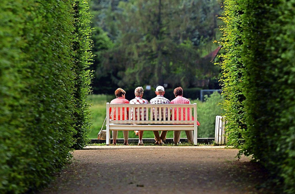 Wie wird die Rente zukunftsfest? Darüber gibt es in der AfD Streit. Foto: dpa