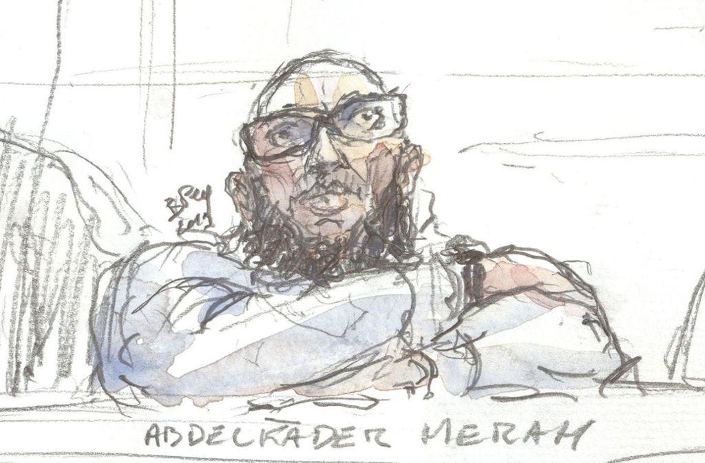 Abdelkader Merah muss 30 Jahre ins Gefängnis. Foto: AFP